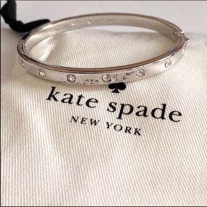 Kate Spade crystal bangle